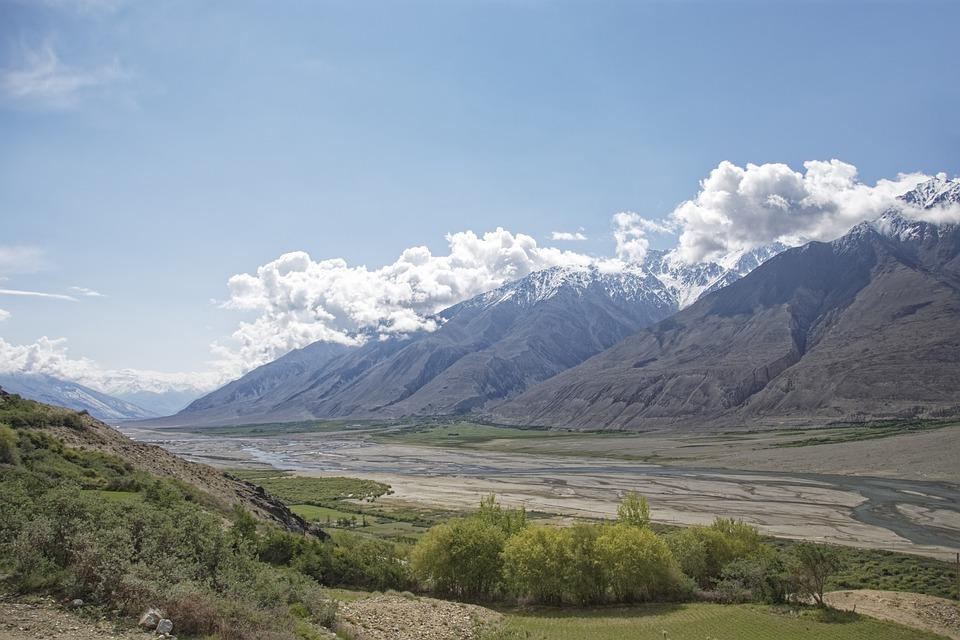 Hory v Tádžikistánu